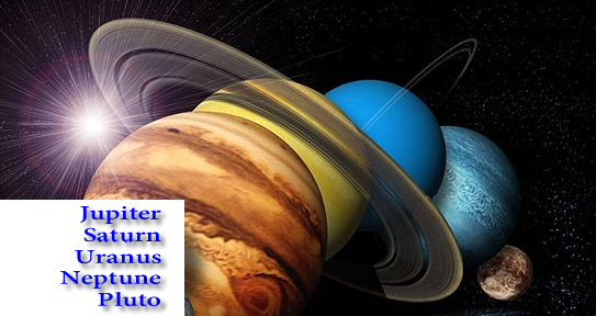 outer planets in vedic astrology